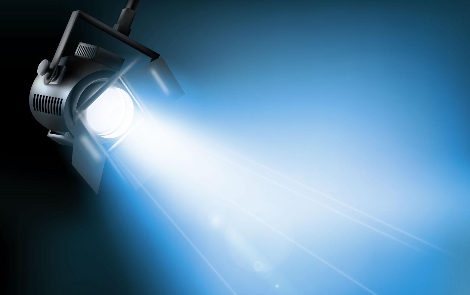 Dichroitisches Glas - Beleuchtungsfilter FE Blue