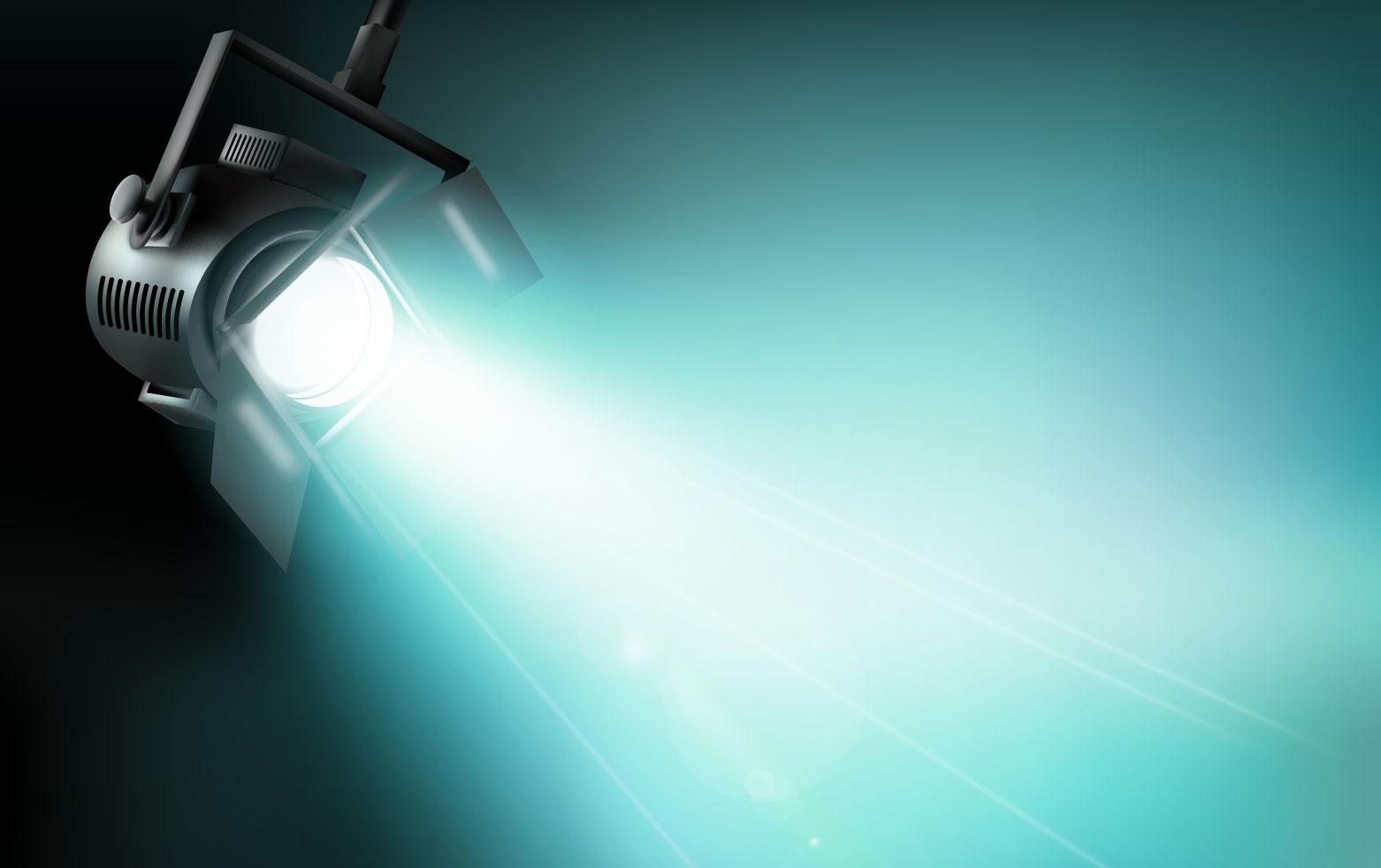 Dichroitisches Glas - Beleuchtungsfilter FE Cyan