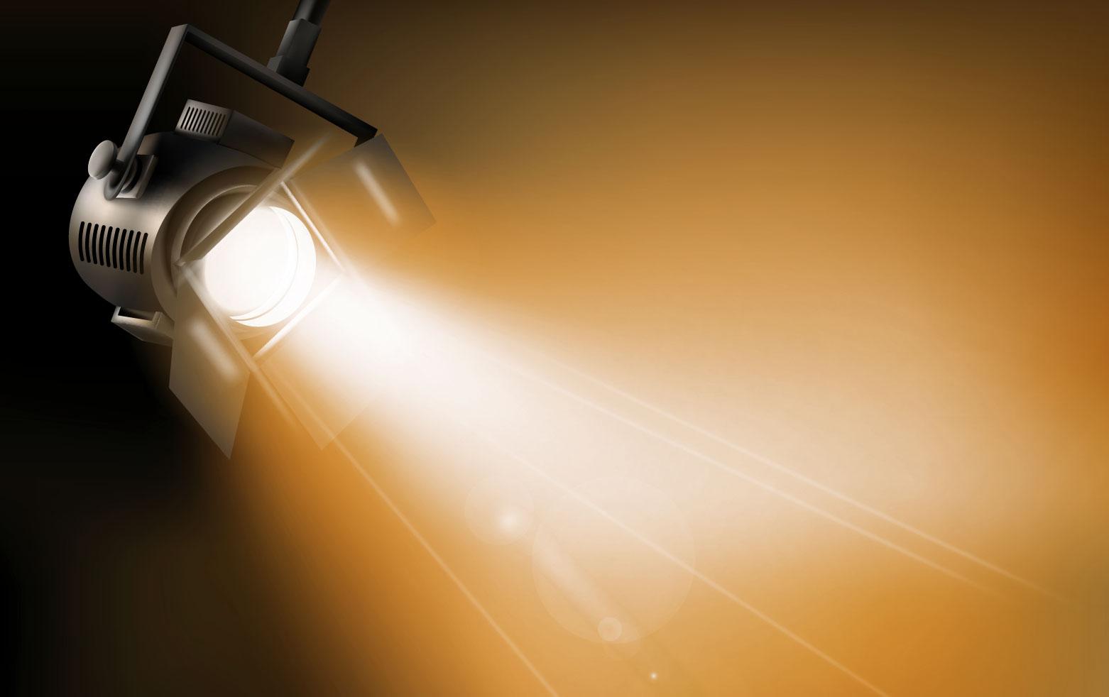 Dichroitisches Glas - Beleuchtungsfilter FE Orange
