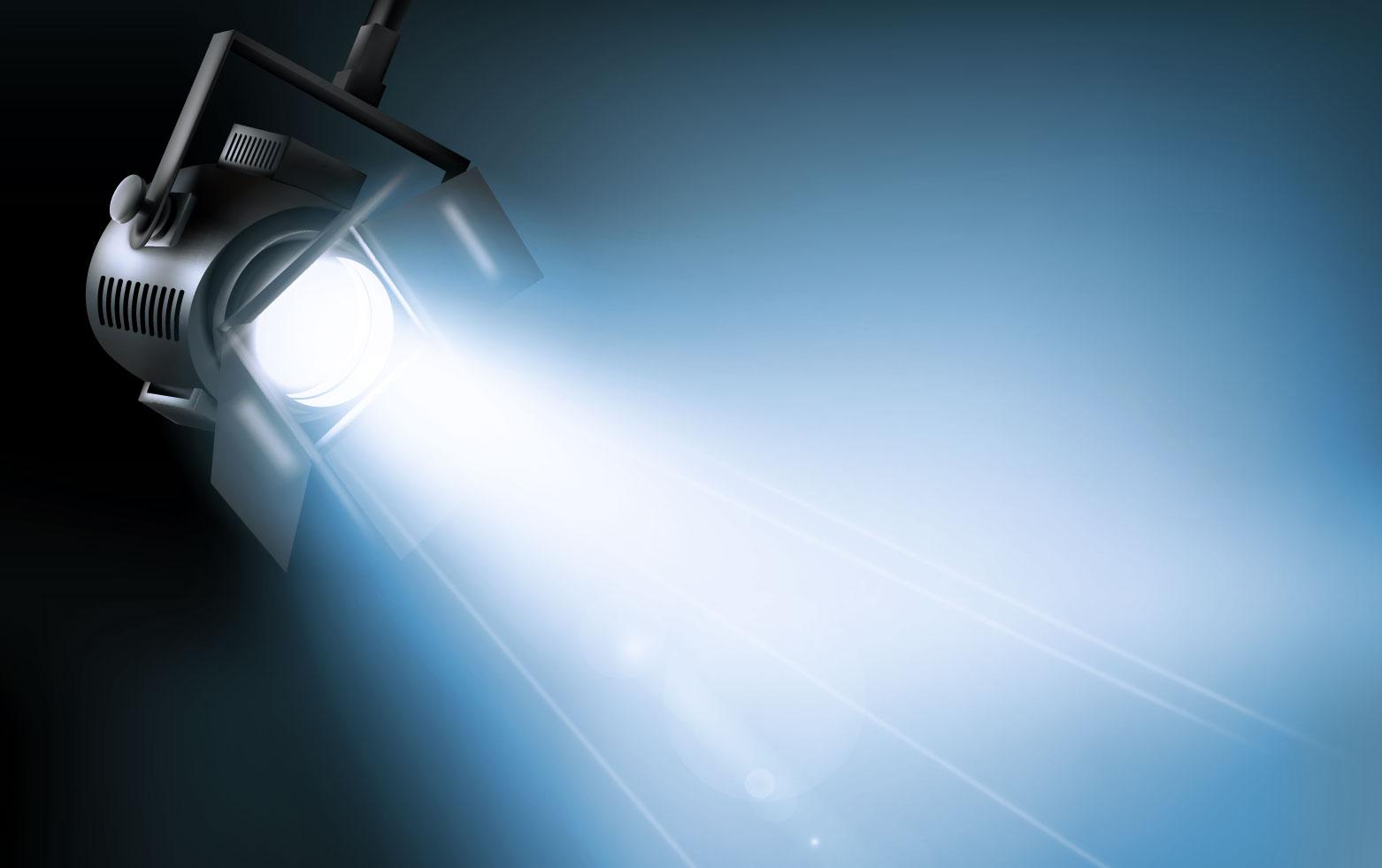 Dichroitisches Glas - Beleuchtungsfilter FM blue