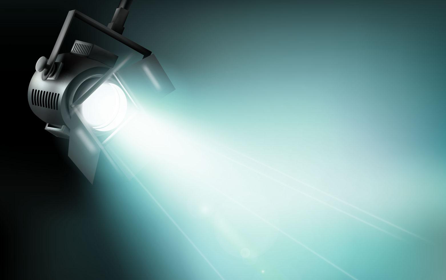 Dichroitisches Glas - Beleuchtungsfilter FM Cyan