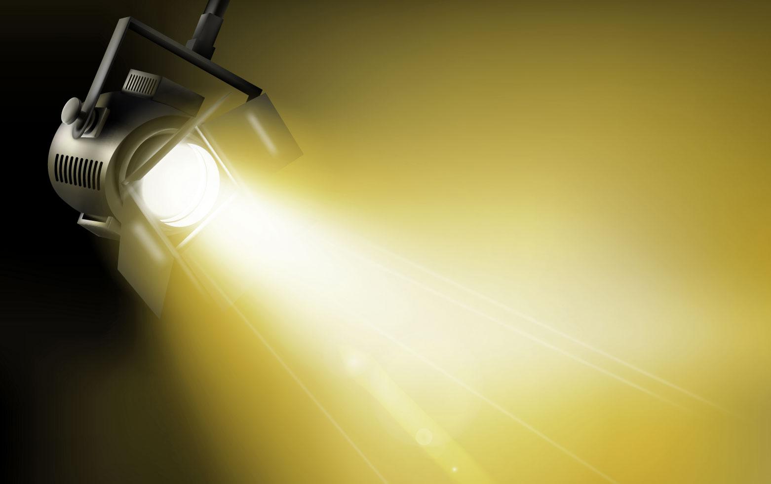 Dichroitisches Glas - Beleuchtungsfilter FM Yellow