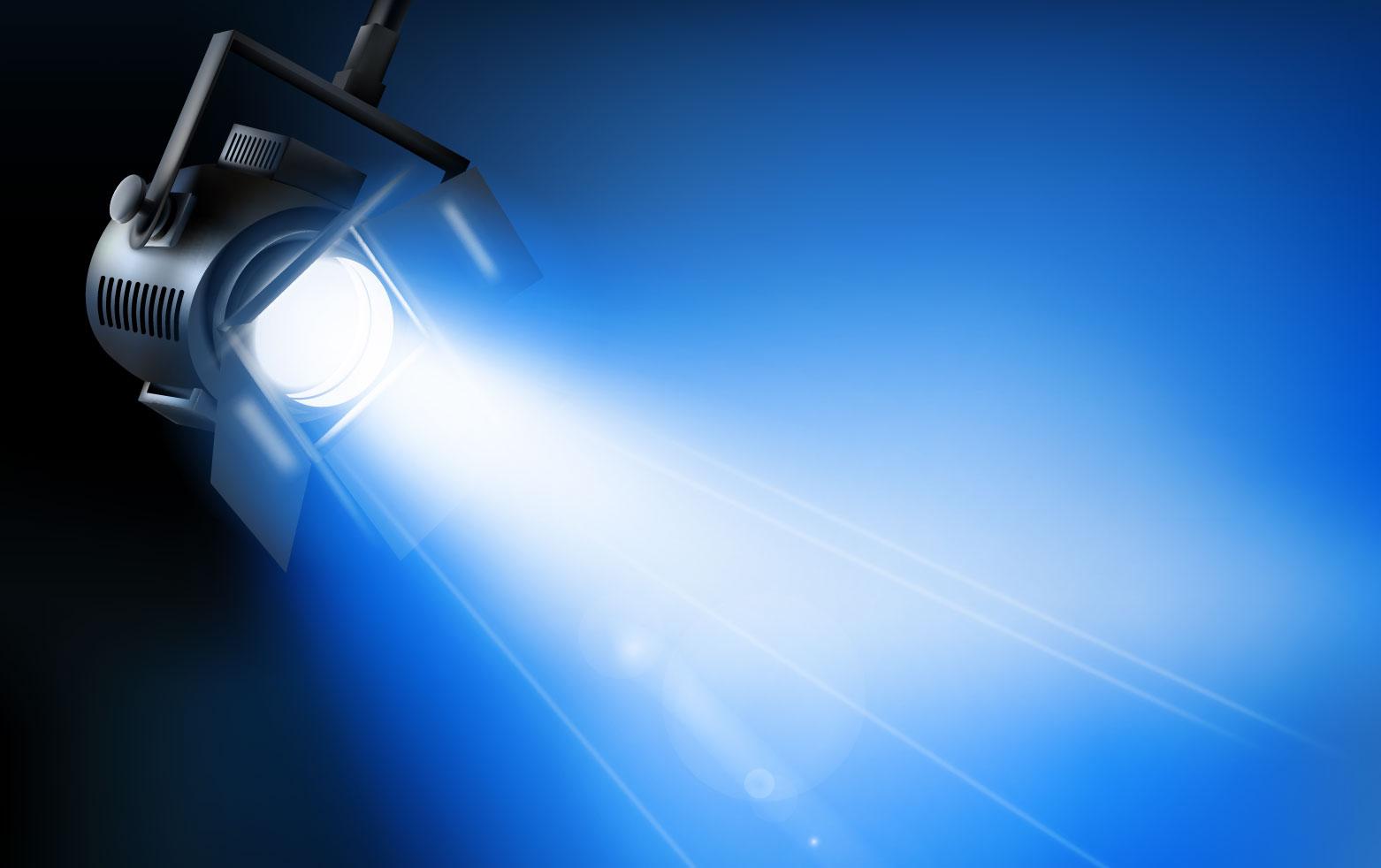 Dichroitisches Glas - Beleuchtungsfilter FS blue 515