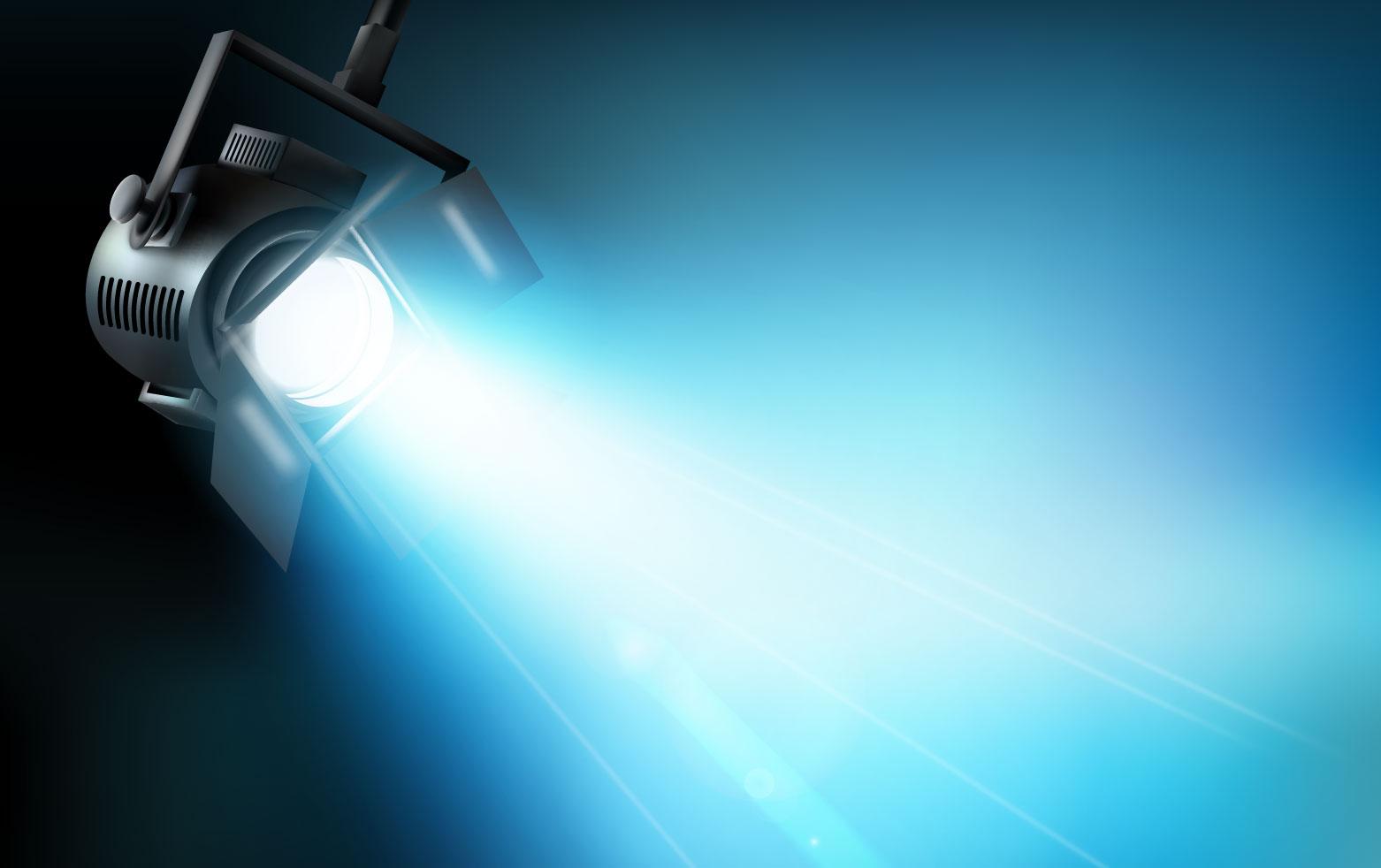 Dichroitisches Glas - Beleuchtungsfilter FS Cyan 555