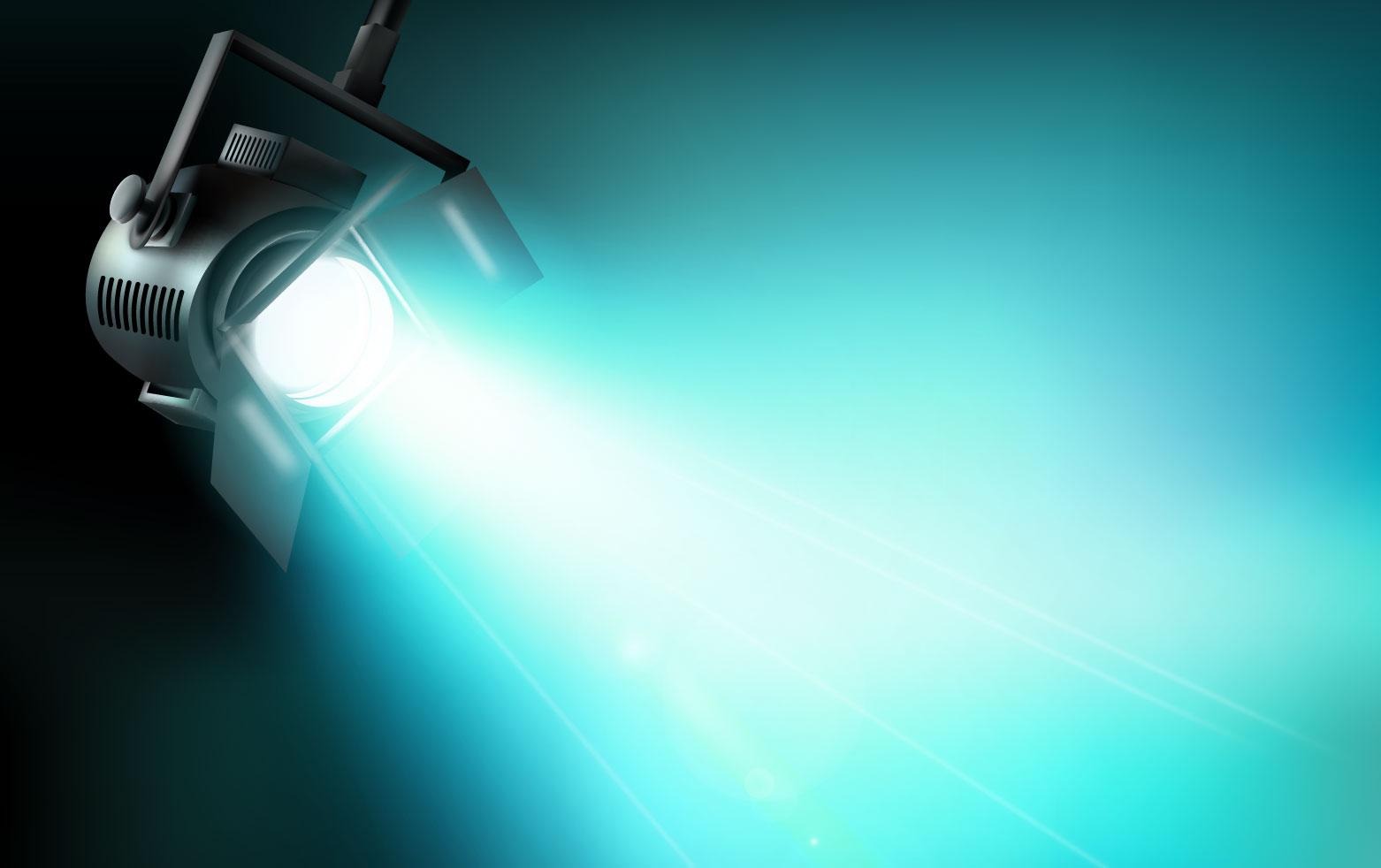 Dichroitisches Glas - Beleuchtungsfilter FS Cyan 575