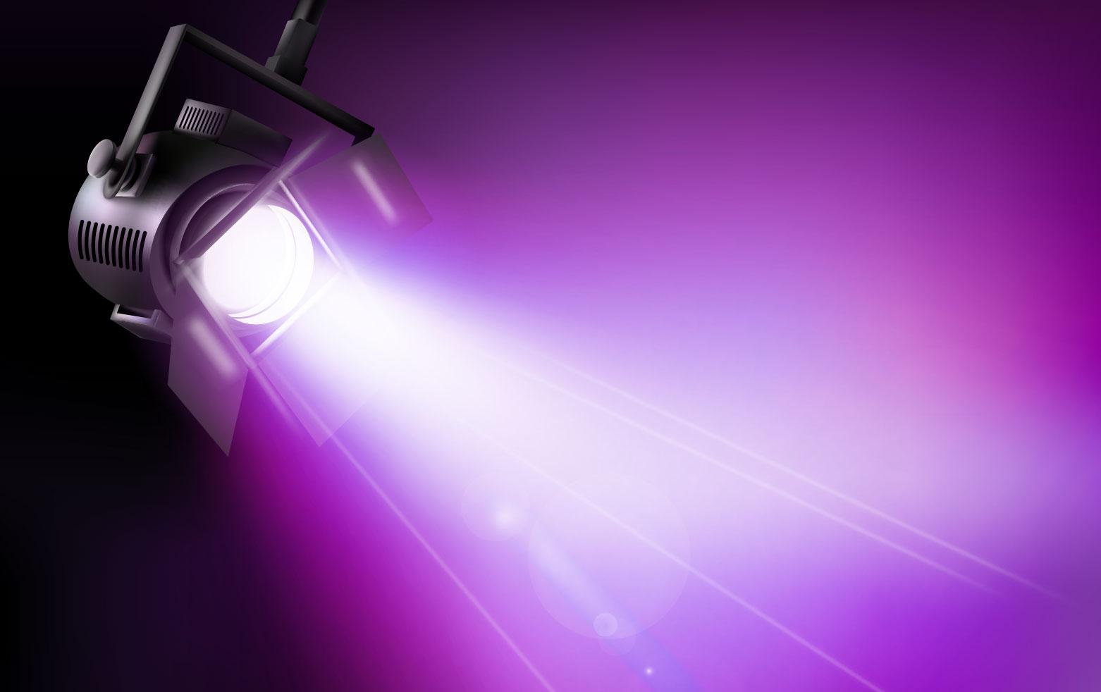 Dichroitisches Glas - Beleuchtungsfilter FS Magenta 455645