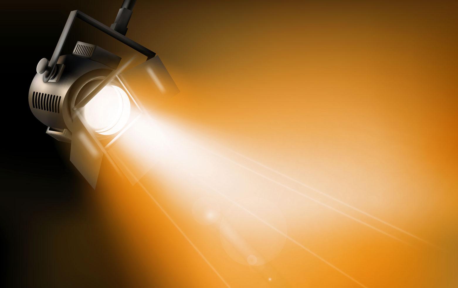 Dichroitisches Glas - Beleuchtungsfilter FS Orange 585