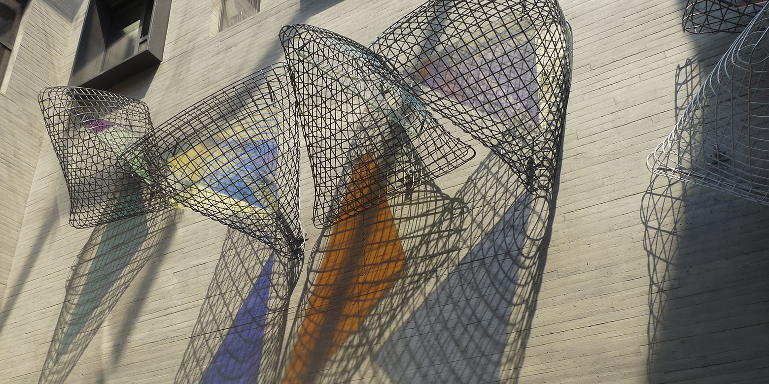 Werner Bitzigeio - Handwerkskammer Koblenz - Designglas - Farbeffektfilter - für Kunst und Kunst am Bau
