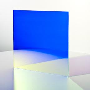 Farbeffektglas - Dichroitischer Filter FS Blue Tagansicht