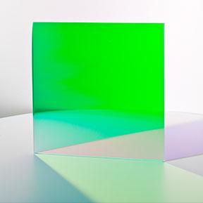 Farbeffektglas - Dichroitischer Filter FS Green Tagansicht