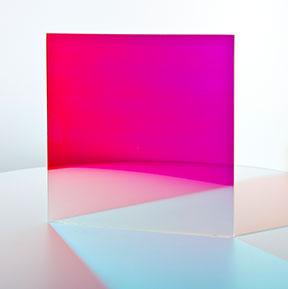 Farbeffektglas - Dichroitischer Filter FS Magenta Tag