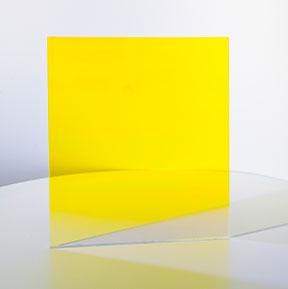 Farbeffektglas - Dichroitischer Filter FS Yellow Tagansicht
