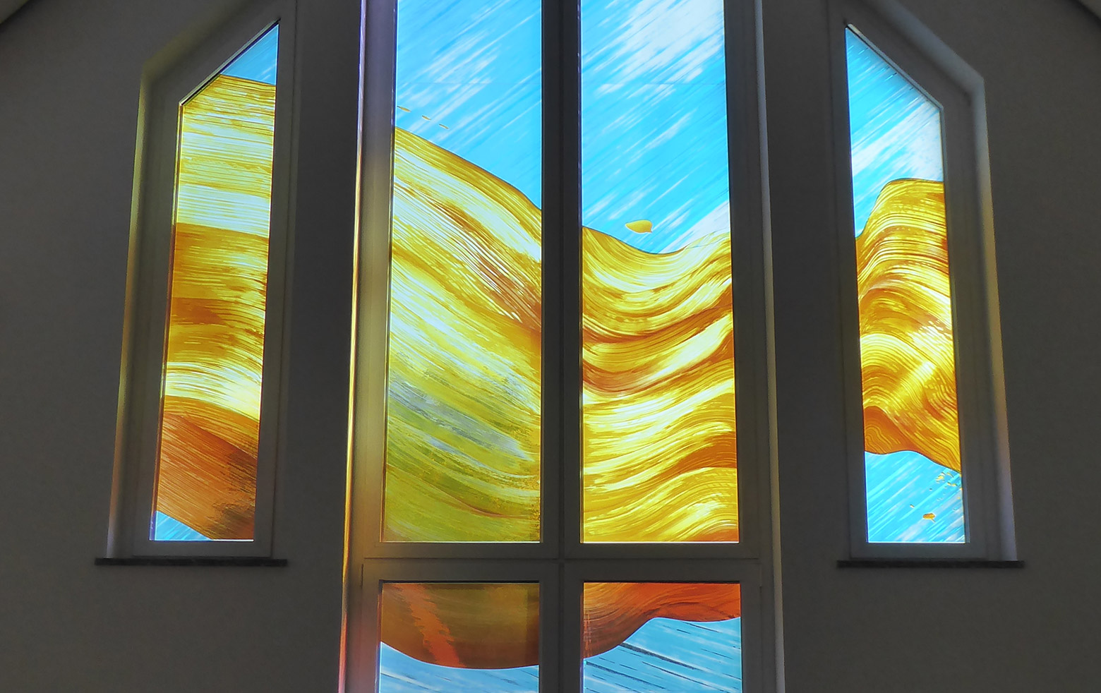 Glass art by Michèle Janata