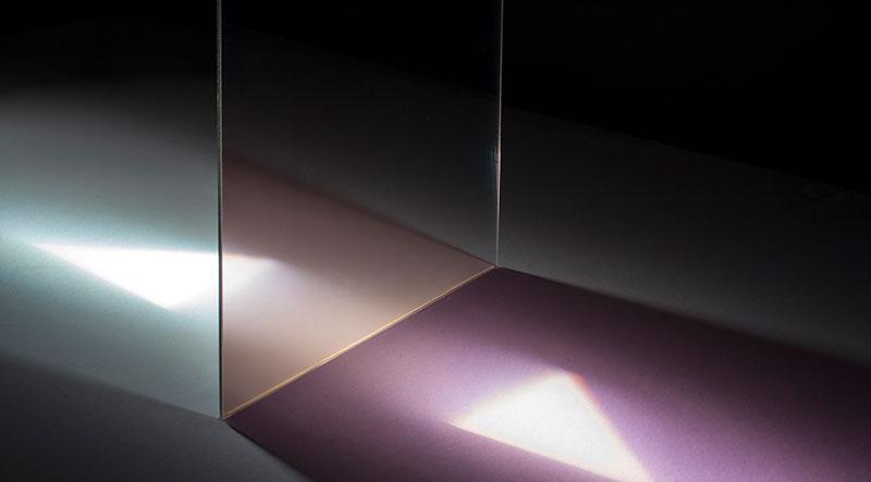 Teilerspiegel - Halbtransparenter Spiegel M3