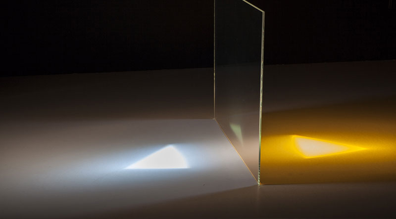 UV-Reflexionsfilter zur Härtung von Lacken und Kunststoffen
