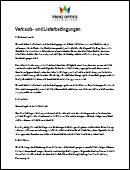 Allgemeine Geschäftsbedingungen der Prinz Optics GmbH