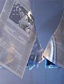 Kunst mit dichroitischem Glas, Susanne Kunkel Zeitimpuls / stille Dissonanz