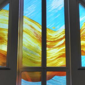 Glass art by Michèle Janata