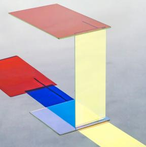 Dicroic play of colors within ABCD Table