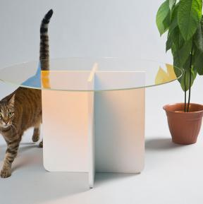Dichroitische Filter für Möbel-Design - Tisch O von Kukka