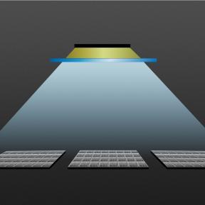 Technische Filter zur Sonnenlicht-simulation